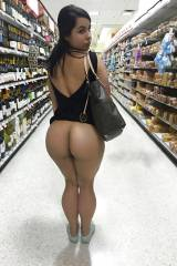 In the Wine Aisle (x-post /r/LiftedSkirts)