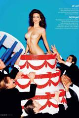 Emily Ratajkowski topless for GQ Magazine - More i...