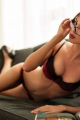Hottie with glasses