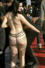Rose McGowan Butt Floss