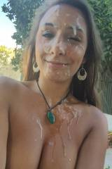 Mariah Leonne - Facial-glazed under the lime trees...
