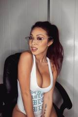Asian cutie with glasses