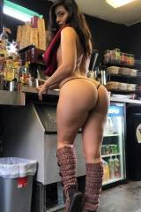 Busty Seattle Barista