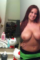Huge Titties Amateur On/Off