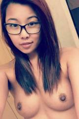 Asian With Glasses