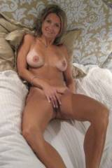Gorgeous Tan Lined Milf