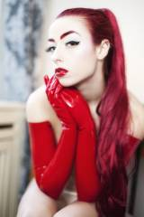 Red Hair, Red Gloves