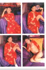 Qi Shu - Penthouse pictures - 1995 February