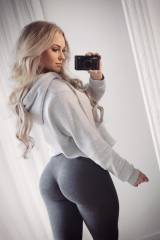 Id say Im tired of Anna Nystrom pics but her ass...