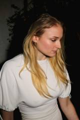 Sophie Turner looks great in white