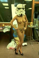 arent you a little too sexy for a stormtrooper?