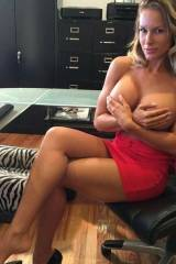 Busty at the Office