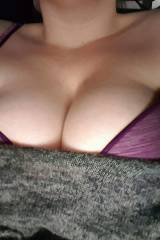 Keep staring at my wifes big tits. It doesnt hav...