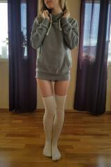 Really loving my new thigh-highs!