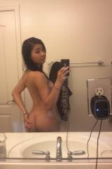 Asian Teens Butt Selfie