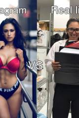 Laura Ivette: same woman and same day both picture...