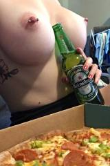 [f] pizza gone wild :P x-post from r/GoodSiren