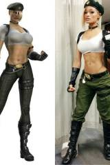 Alicia Marie cosplaying Sonya