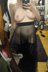 I love this sheer skirt [f]