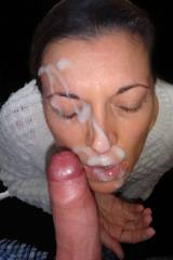 she got a cum addiction