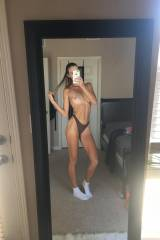 Fit Girl In Mirror