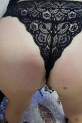 Wifes ass this morning at the office