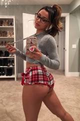 Ana Cheri is ready for bed
