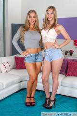 Jillian Janson & Nicole Aniston. [x-post /r/justho...