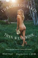 Alicia Silverstone, not knowing how they get wool ...