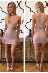 Dusty Blush Bodycon
