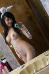 hot asian bunny girl