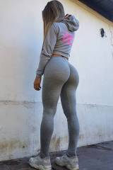 Yoga pants to its limits (X-post /r/TheBooty)