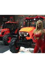 Zetors lady in red from agritechnia