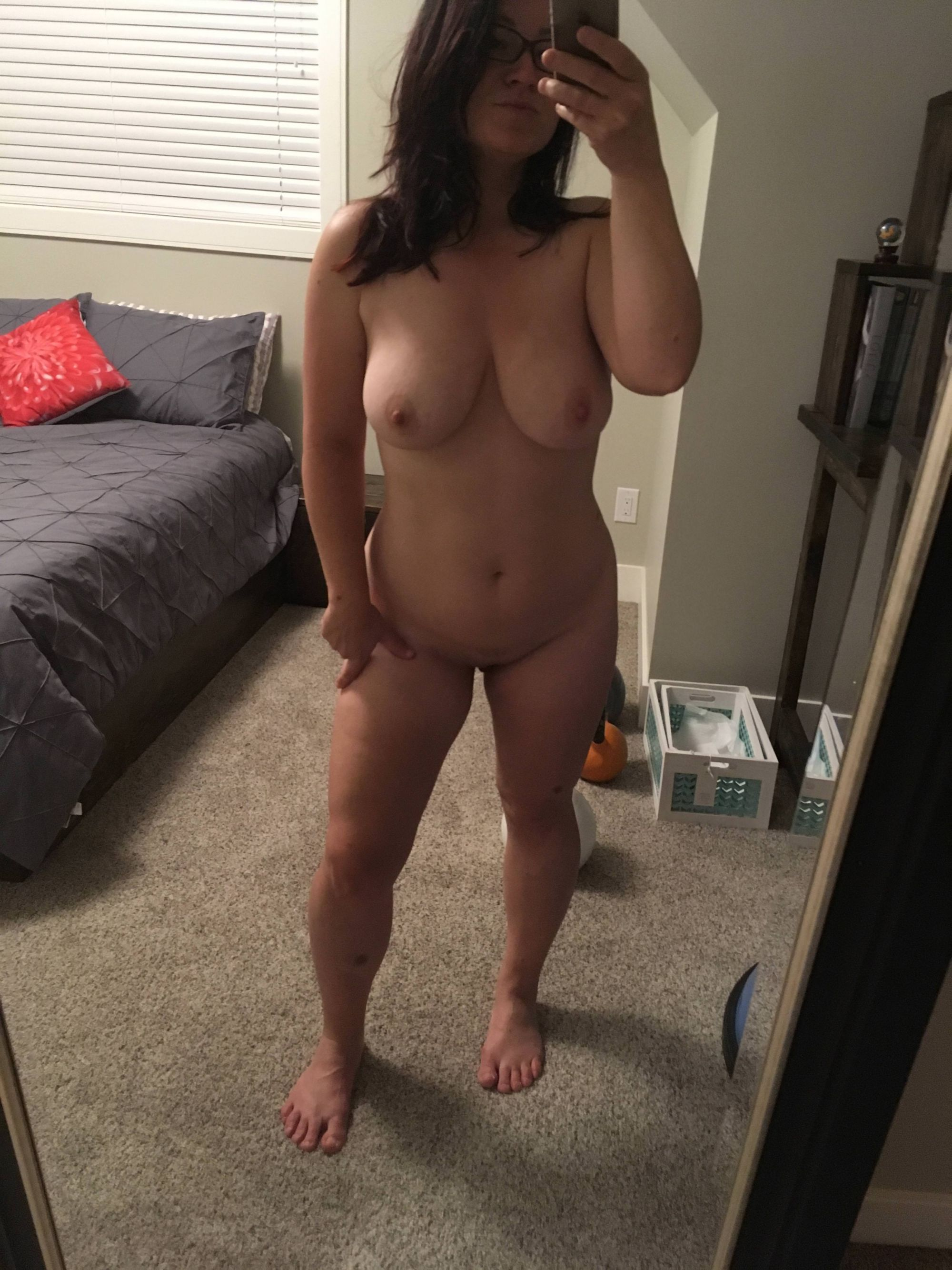 Best thing about being home - walking around naked! [F]35