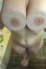 Busty Chick In The Shower