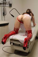 Im a horny nurse craving to be mounted and filled...