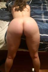 My pale ass for you 😘🍑