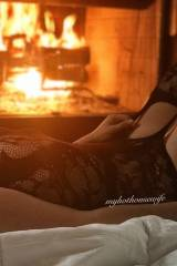 Is it cold where you are? Want me to come warm you...