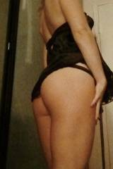 Getting ready to go to school [f] in black short d...