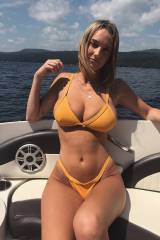 Busty and boating