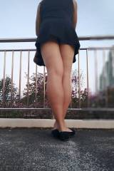 [F] I like to stand at the overhead bridge and wat...