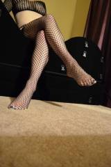 I just got these yesterday, do you like fishnets a...