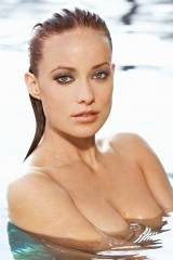 Olivia Wilde - Wet & Topless Modeling (Photo From ...